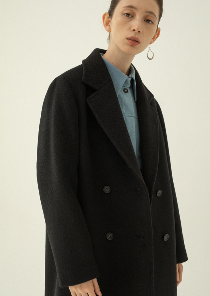 Structure Double Coat - Black
