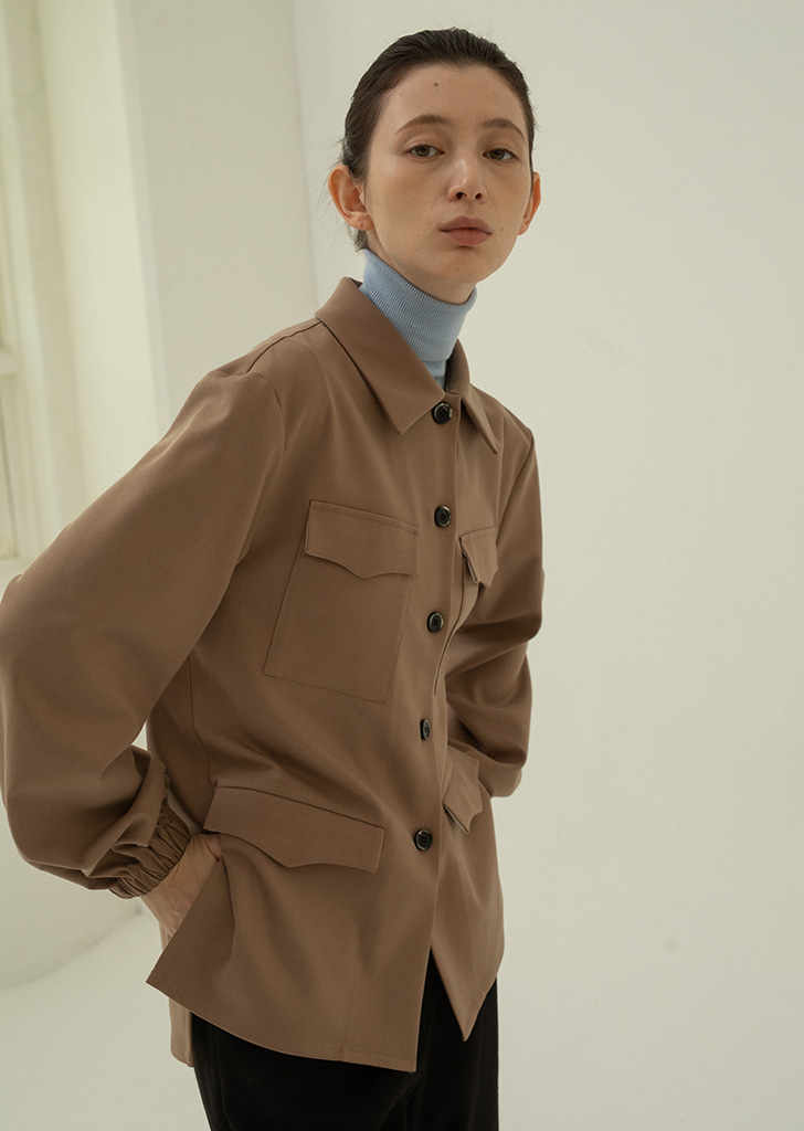 Four Pocket Shirt - Beige