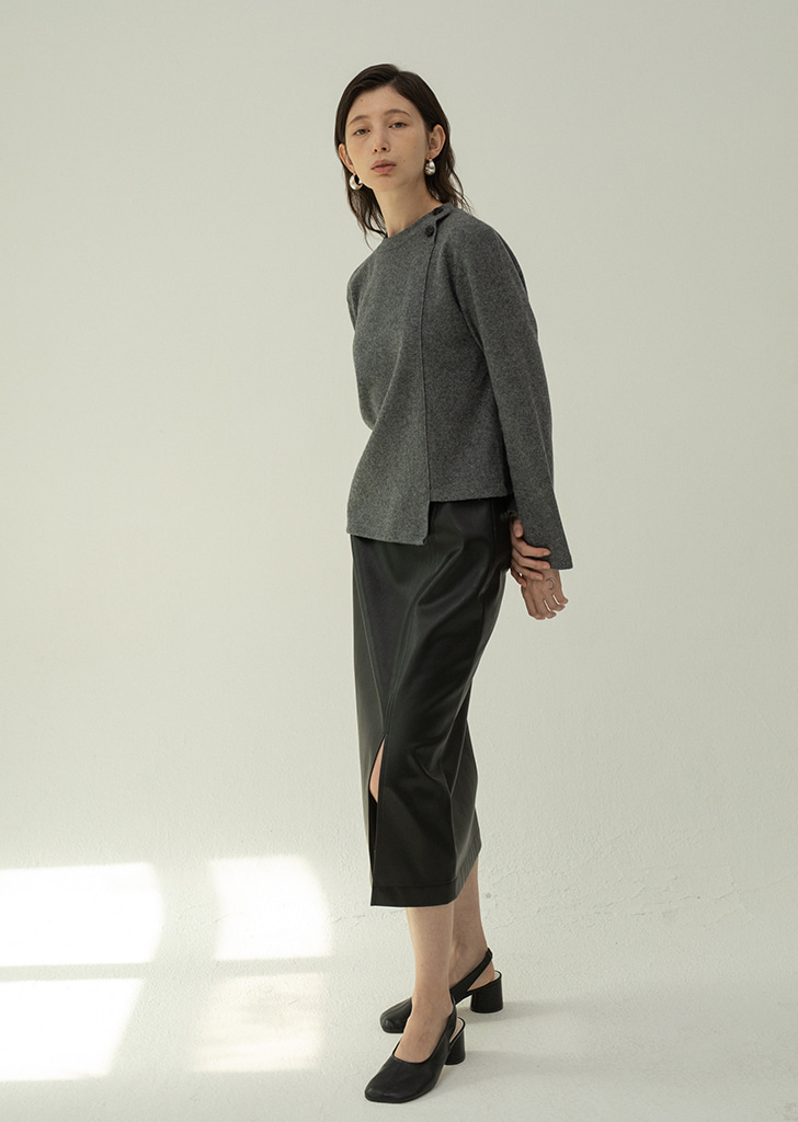Two Buttons Top - Darkgray